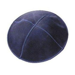 Kipa-Suede-Navy Blue-Picture