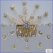 Woman's Irenes -DONE-Clear on Goldplated Wire-Picture-