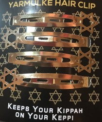 SD - KIPPAH CLIPS - GOLD