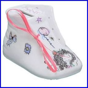Collectors-Ceramic-Girl-Shoe-Tzadakah-Holder-Designed-by-Jacquelene-Klein-B007QO2UEC