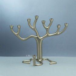 Designer-Nickel-Tree-of-Life-Menorah-by-Sandra-Kravitz-B007KMTOGM
