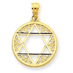 Judaica-Jewelry-14K-Yellow-Gold-Filigree-Star-of-David-Pendant-B00K2LMH30