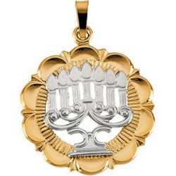 Judaica-Jewelry-14K-Yellow-White-Gold-Two-Tone-Menorah-Pendant-B00K2MV1I6