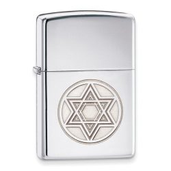 Judaica-Jewelry-Star-of-David-Chrome-Lighter-B00K2M0VG4